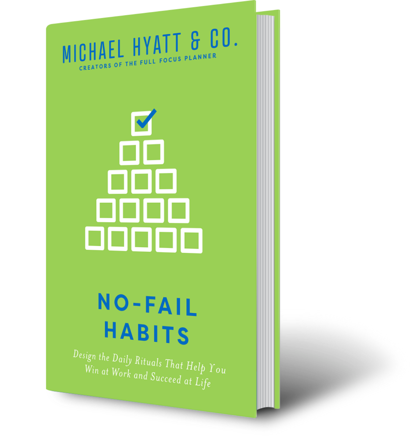No-Fail Habits book